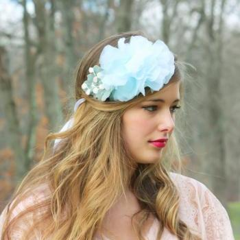 peony flower headpiece,bridal headpiece,wedding bridal clip